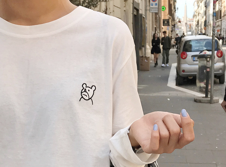 Bear tee (3 color)