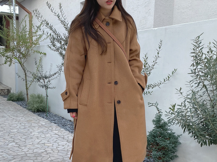 [Premium Made] Wellmade coat (2 color / 2 size), 울 90%