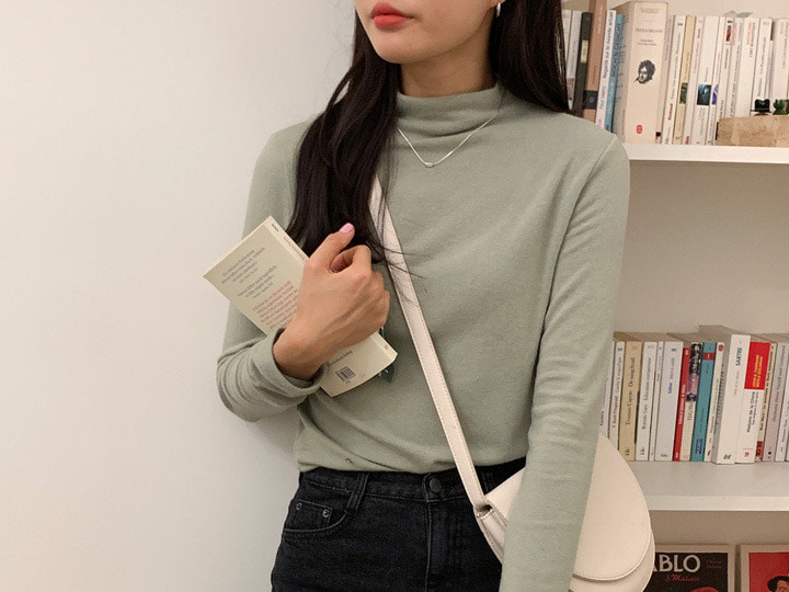 Amy polar tee (5 color), 앙고라 5% 울 14%