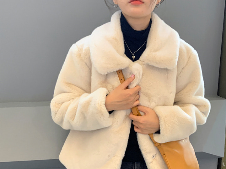 피션 fur jk (2 color)