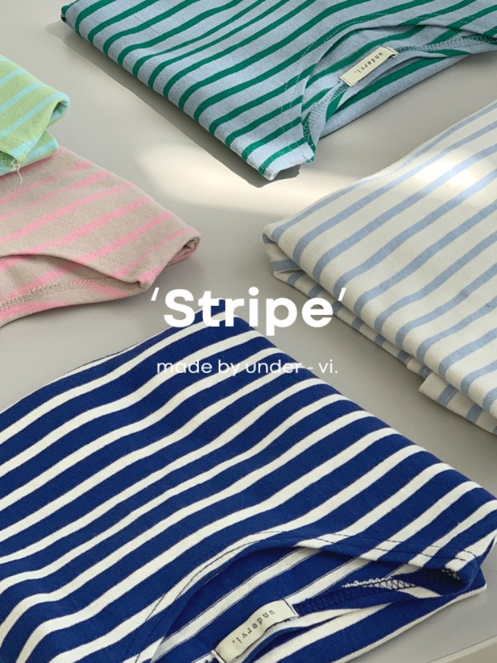 [Made/4천장 돌파!] 커먼 stripe tee (5 color)