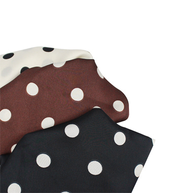 Dot scarf (3 color)
