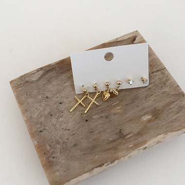 캐슬 earring set