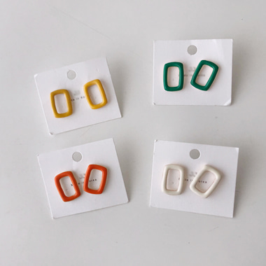 린네 earring (4 color)